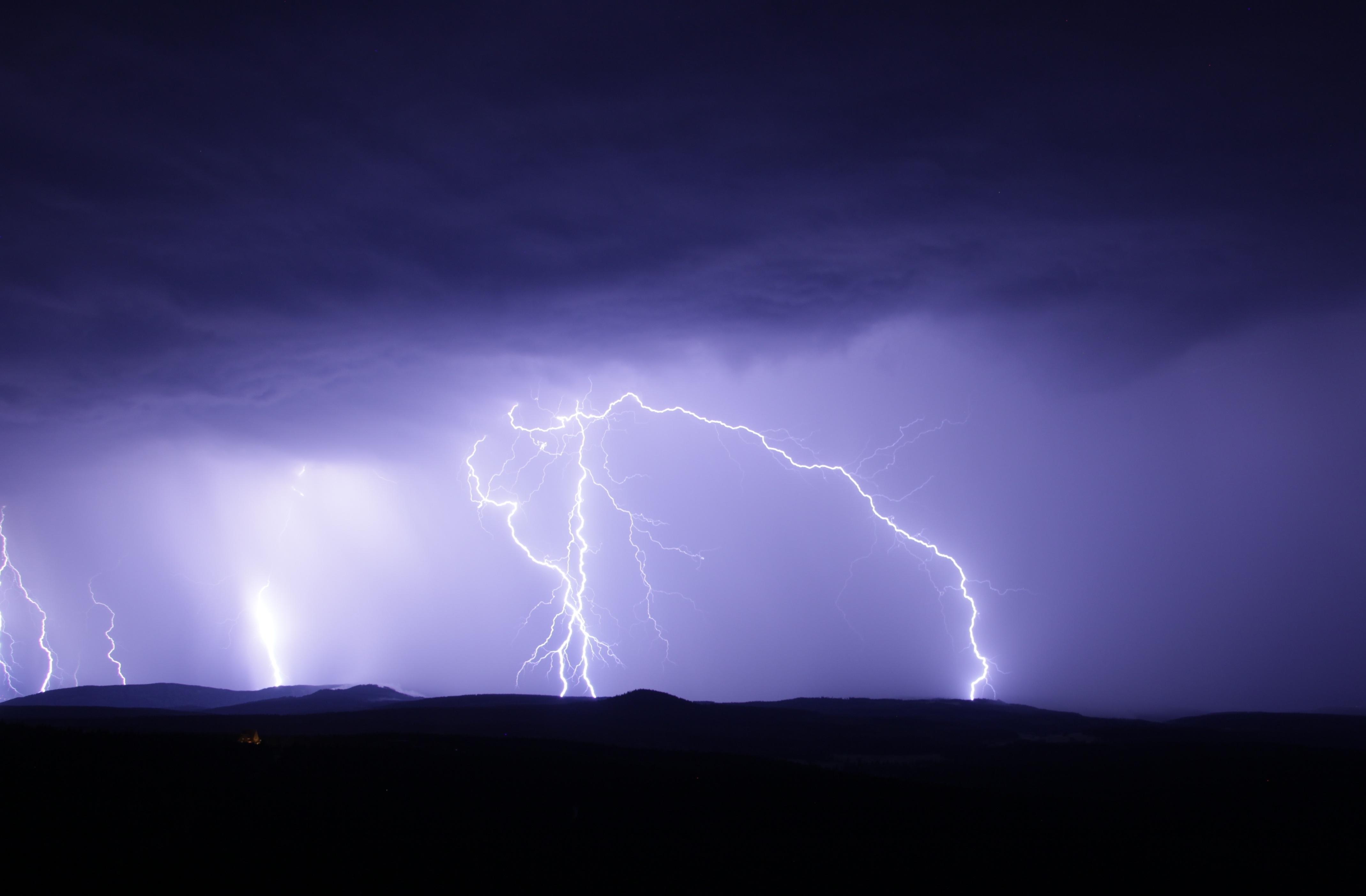 Migräne, Gewitter, Blitz und Donner