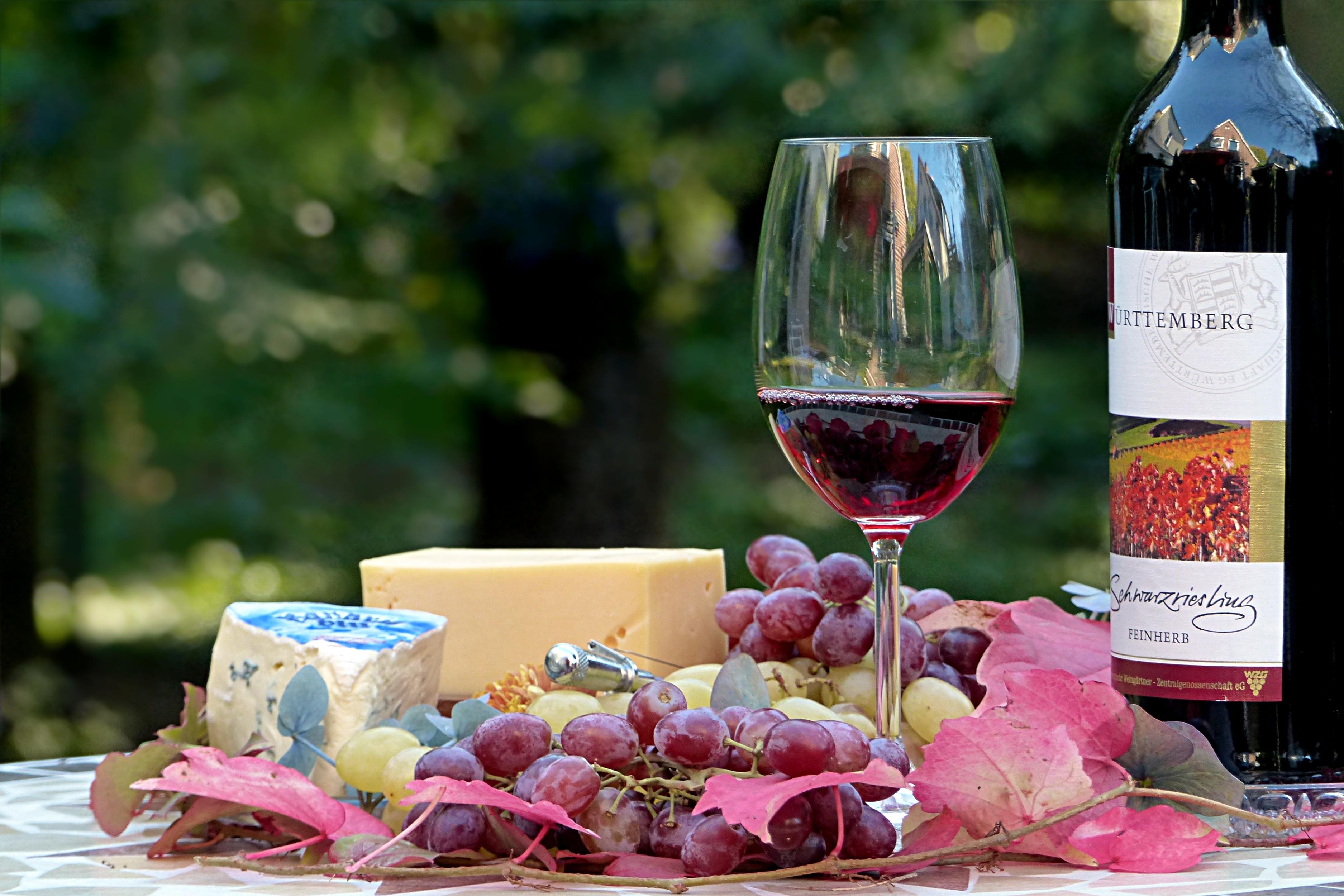 Käse Wein